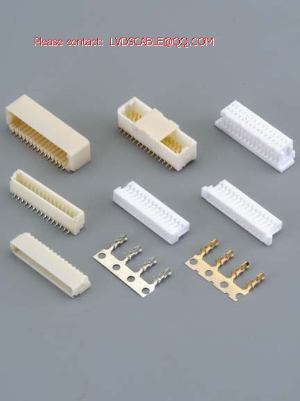 1.00mm Pitch Terminal,Housing,Wafer SMT Connector,equal JST SHDR,JST SH,A1001 connector,HR connectors