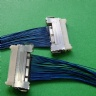 custom I-PEX 20421-051T Micro-Coax cable assembly FI-W7P-HFE LVDS cable eDP cable Assembly Factory