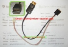 IPEX Coaxial Cable Assembly,SGC cable,lvds cable,20455-040E,20474-030E