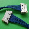 Custom I-PEX 1720-020B fine wire cable assembly I-PEX 2453-0311 LVDS eDP cable Assemblies Provider