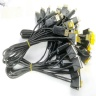Custom FI-RE21CL fine pitch harness cable assembly I-PEX 20325-010T-02S LVDS eDP cable assemblies manufactory