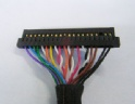 Manufactured FI-RTE41SZ-HF-R1500 fine pitch harness cable assembly I-PEX 1968-0302 LVDS eDP cable Assemblies Factory