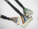 LVDS wiring,UL20276 LVDS Cables,DF20A-50DS-1C TO HS100-L30N,UL2464 Cable