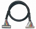 UL20276 DF9-31S + DF13-40DS LVDS cables,UL20276 Cables,UL2464 Shielded CABLE